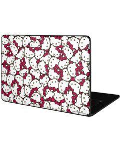 Hello Kitty Multiple Bows Pink Google Pixelbook Go Skin