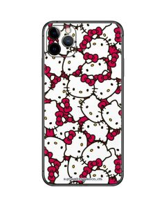 Hello Kitty Multiple Bows Pink iPhone 11 Pro Max Skin
