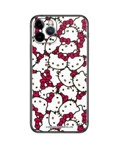 Hello Kitty Multiple Bows Pink iPhone 11 Pro Skin