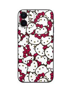Hello Kitty Multiple Bows Pink iPhone 12 Mini Skin