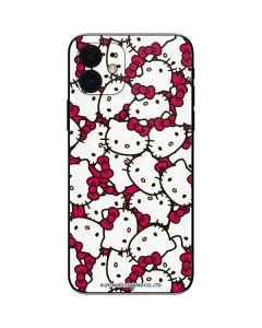 Hello Kitty Multiple Bows Pink iPhone 12 Skin