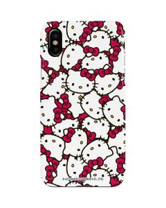 Hello Kitty Multiple Bows Pink iPhone XS Max Lite Case