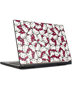 Hello Kitty Multiple Bows Pink MSI GS65 Stealth Laptop Skin