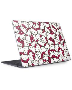 Hello Kitty Multiple Bows Pink Surface Laptop 3 13.5in Skin