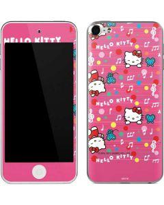 Hello Kitty Music Pattern Apple iPod Skin
