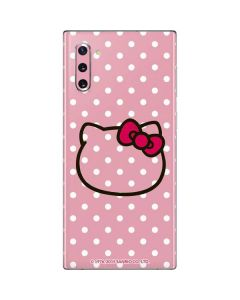 Hello Kitty Outline Galaxy Note 10 Skin