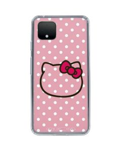 Hello Kitty Outline Google Pixel 4 Clear Case