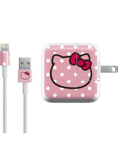 Hello Kitty Outline iPad Charger (10W USB) Skin