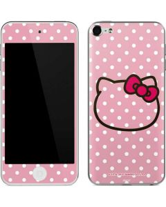 Hello Kitty Outline Apple iPod Skin