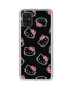 Hello Kitty Pattern Galaxy A51 Clear Case