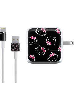 Hello Kitty Pattern iPad Charger (10W USB) Skin