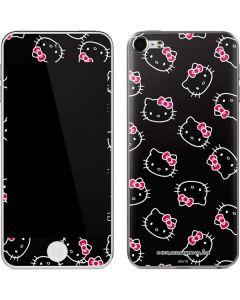 Hello Kitty Pattern Apple iPod Skin