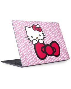 Hello Kitty Pink Bow Peek Surface Laptop 3 13.5in Skin