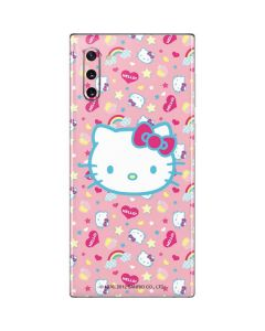 Hello Kitty Pink, Hearts & Rainbows Galaxy Note 10 Skin