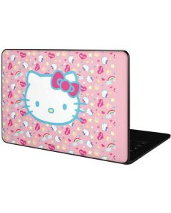 Hello Kitty Pink, Hearts & Rainbows Google Pixelbook Go Skin