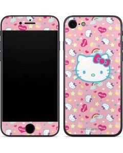 Hello Kitty Pink, Hearts & Rainbows iPhone SE Skin