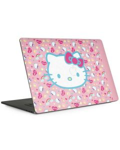 Hello Kitty Pink, Hearts & Rainbows Apple MacBook Pro 15-inch Skin