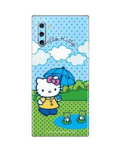 Hello Kitty Rainy Day Galaxy Note 10 Skin