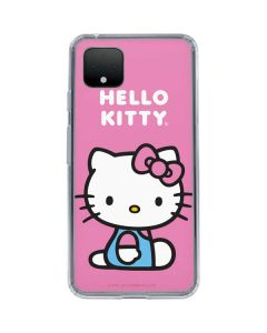 Hello Kitty Sitting Pink Google Pixel 4 XL Clear Case