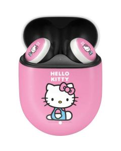 Hello Kitty Sitting Pink Google Pixel Buds Skin