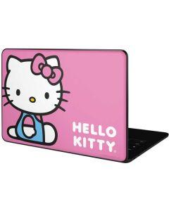 Hello Kitty Sitting Pink Google Pixelbook Go Skin
