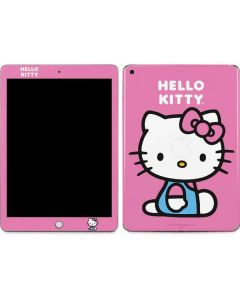 Hello Kitty Sitting Pink Apple iPad Skin