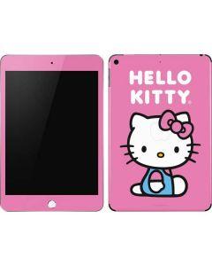 Hello Kitty Sitting Pink Apple iPad Mini Skin