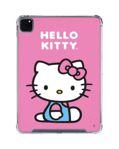 Hello Kitty Sitting Pink iPad Pro 11in (2020) Clear Case
