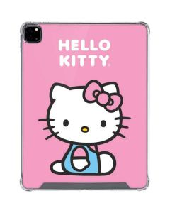 Hello Kitty Sitting Pink iPad Pro 12.9in (2020) Clear Case