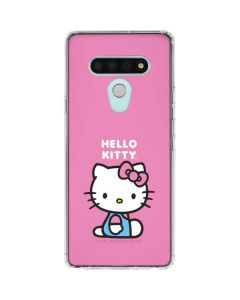 Hello Kitty Sitting Pink LG Stylo 6 Clear Case