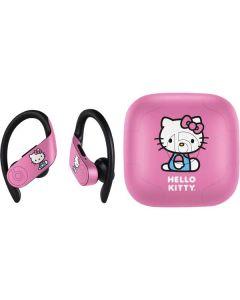 Hello Kitty Sitting Pink PowerBeats Pro Skin