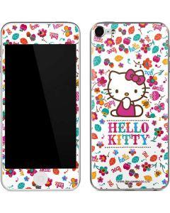 Hello Kitty Smile White Apple iPod Skin