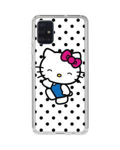 Hello Kitty Waving Galaxy A51 Clear Case