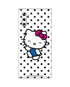 Hello Kitty Waving Galaxy Note 10 Skin