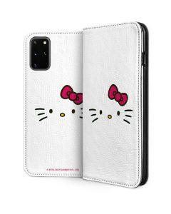 Hello Kitty White Galaxy S20 Plus Folio Case