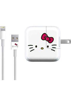 Hello Kitty White iPad Charger (10W USB) Skin