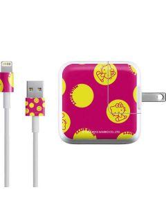 Hello Kitty Yellow Circles iPad Charger (10W USB) Skin