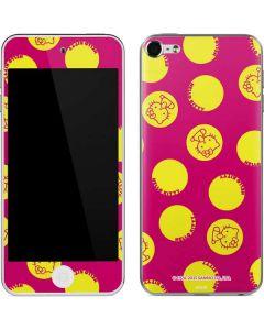 Hello Kitty Yellow Circles Apple iPod Skin