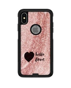 Hello Love Otterbox Commuter iPhone Skin