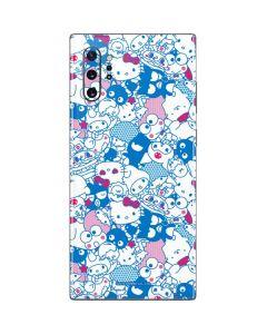 Hello Sanrio Blue Blast Galaxy Note 10 Plus Skin