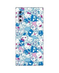 Hello Sanrio Blue Blast Galaxy Note 10 Skin