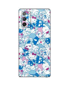 Hello Sanrio Blue Blast Galaxy Note20 5G Skin
