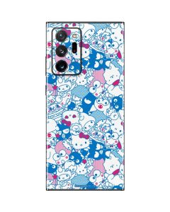 Hello Sanrio Blue Blast Galaxy Note20 Ultra 5G Skin
