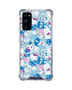 Hello Sanrio Blue Blast Galaxy S20 FE Clear Case