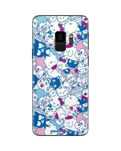 Hello Sanrio Blue Blast Galaxy S9 Skin