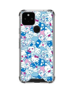 Hello Sanrio Blue Blast Google Pixel 5 Clear Case