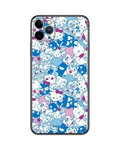 Hello Sanrio Blue Blast iPhone 11 Pro Max Skin