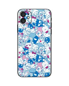 Hello Sanrio Blue Blast iPhone 11 Skin