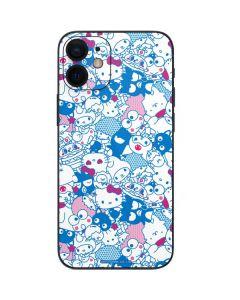 Hello Sanrio Blue Blast iPhone 12 Mini Skin