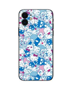 Hello Sanrio Blue Blast iPhone 12 Skin